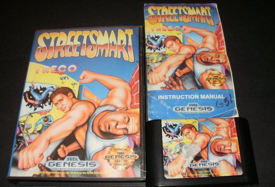 Street Smart - Sega Genesis - Complete CIB