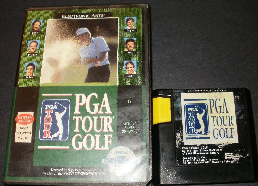 PGA Tour Golf - Sega Genesis - With Box