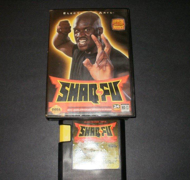 Shaq-Fu - Sega Genesis - With Box