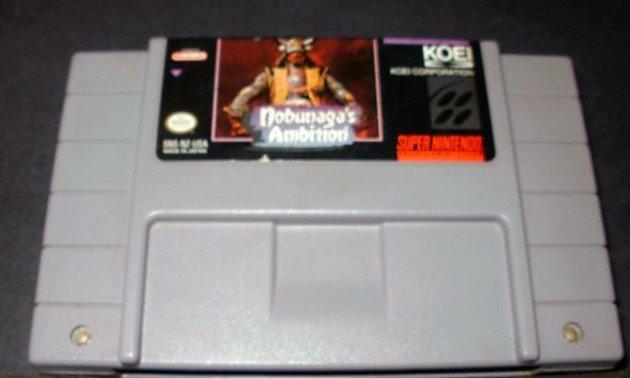 Nobunaga's Ambition - SNES Super Nintendo