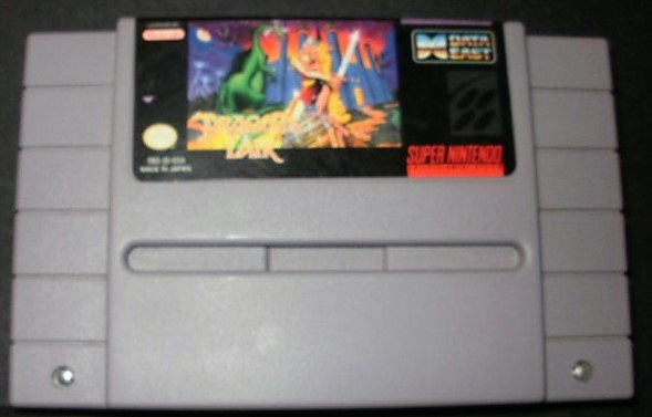 Dragon's Lair - SNES Super Nintendo