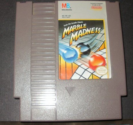 Marble Madness - Nintendo NES