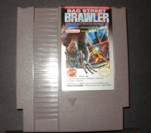 Bad Street Brawler - Nintendo NES