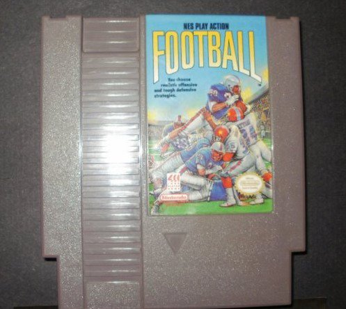 NES Play Action Football - Nintendo NES
