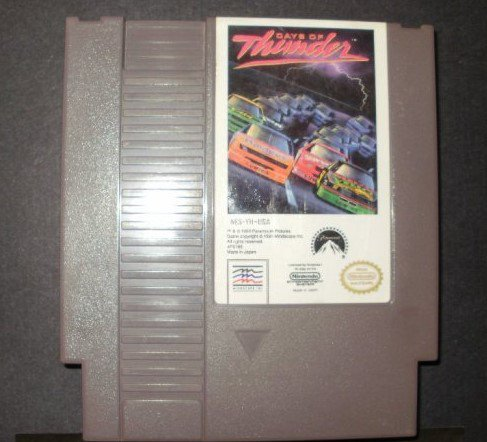 Days of Thunder - Nintendo NES