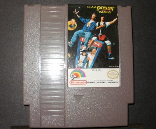 Bill & Ted's Excellent Video Game Adventure - Nintendo NES