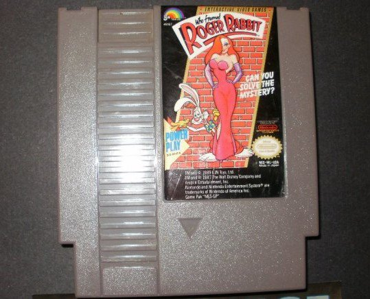 Who Framed Roger Rabbit - Nintendo NES