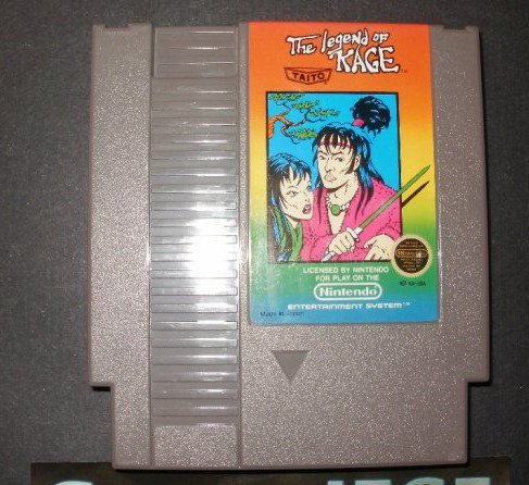 Legend of Kage - Nintendo NES