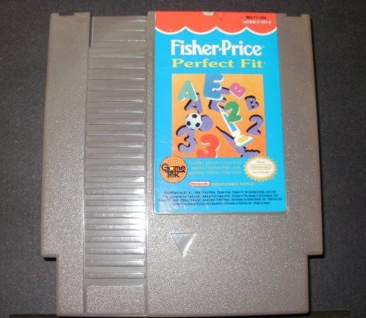 Fisher Price Perfect Fit - Nintendo NES