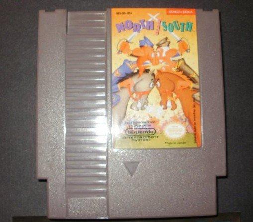 North and South - Nintendo NES - Rare