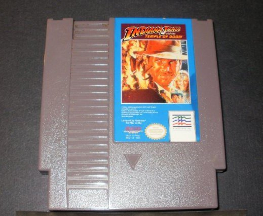Indiana Jones And the Temple of Doom - Nintendo NES - Mindscape Version