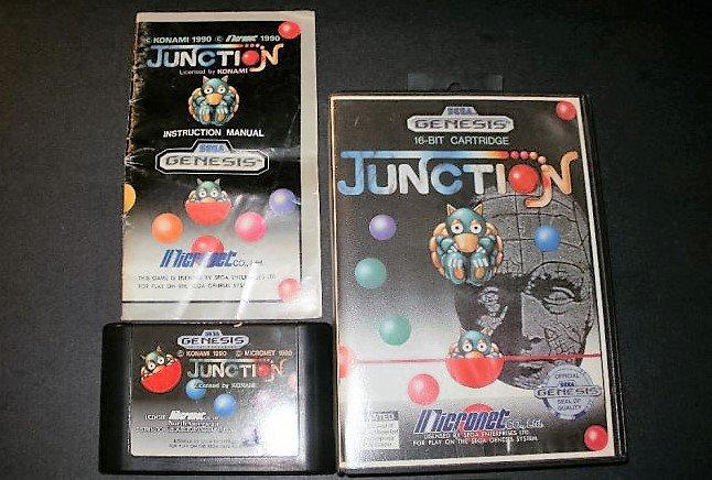 Junction - Sega Genesis - Complete
