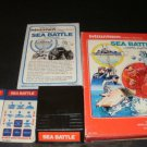 Sea Battle - Mattel Intellivision - Complete CIB