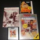 Realsports Baseball - Atari 7800 - Complete
