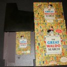 Great Waldo Search - Nintendo NES - Complete - Rare