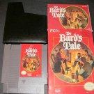 Bard's Tale - Nintendo NES - Complete CIB