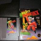 Mighty Bomb Jack - Nintendo NES - With Box & Cartridge Sleeve