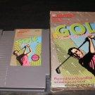 Bandai Golf Challenge Pebble Beach - Nintendo NES - With Box