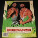 WWF Bushwhackers Folder With Pockets - 1991 Plymouth Inc