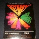 Math A Magic Echo - Magnavox Odyssey 2 - Complete