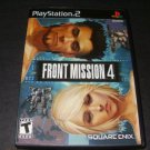 Front Mission 4 - Sony Playstation 2 - Complete