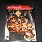Onimusha 2 Samurai's Destiny - Sony Playstation 2 - Complete