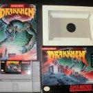 Drakkhen - SNES Super Nintendo - Complete CIB