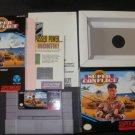 Super Conflict - SNES Super Nintendo - Complete CIB