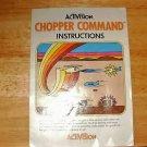 Chopper Command - Atari 2600 Manual