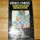 Video Chess - Atari 2600 Manual