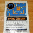Dark Cavern - Atari 2600 Manual