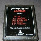 Combat - Atari 2600 - No Artwork Label