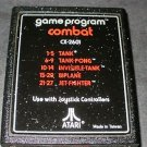 Combat - Atari 2600 - No Artwork Label
