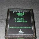 Casino - Atari 2600 - No Artwork Green Label Version