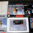 Tommy Moe's Winter Extreme Skiing & Snowboarding - SNES Super Nintendo - Complete CIB