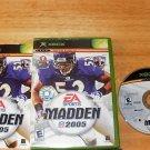 EA Sports Madden 2005 - Microsoft Xbox - Complete CIB
