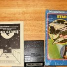 Star Strike - Mattel Intellivision - With Box & Manual