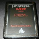 Outlaw - Atari 2600 - Red Text Label