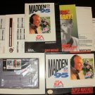 Madden 95 - SNES Super Nintendo -  Complete CIB