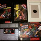 Captain America & the Avengers - SNES Super Nintendo - CIB Complete
