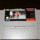 Tecmo Super NBA Basketball - SNES Super Nintendo