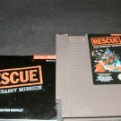 Rescue The Embassy Mission - Nintendo NES - With Manual & Cartridge Sleeve