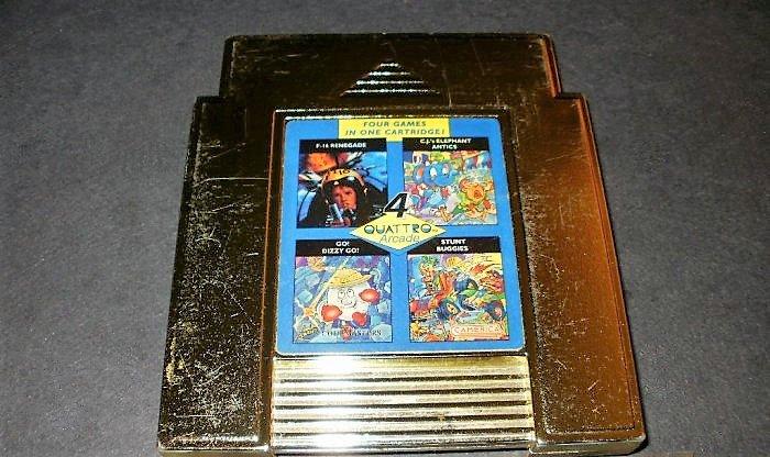 Quattro Arcade - Nintendo NES - Rare