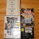 Triple Play 96 - Sega Genesis - With Box & Pamphlets