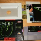 Alien 3 - SNES Super Nintendo - With Box & Pamphlets