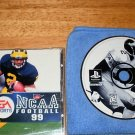 NCAA Football 99 - PlayStation PS1 - Complete