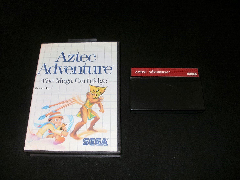 Aztec Adventure - Sega Master System - With Box