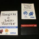 Hang On & Astro Warrior - Sega Master System - Complete CIB