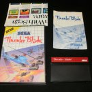Thunder Blade - Sega Master System - Complete CIB