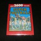 Super Football - Atari 2600 - Brand New Factory Sealed